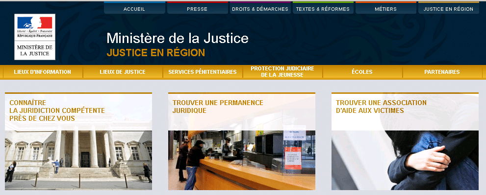 annuaires jusitce